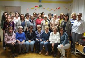 foto di gruppo delle collaboratrici